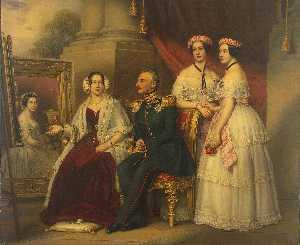 Family of Duke Joseph von Sachsen Altenburg