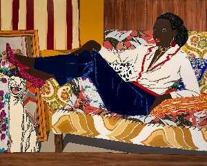 Portrait of Mnonja