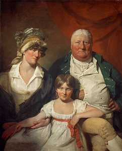 William Chalmers Bethune (1744–1807), his Wife Isobel Morison (1760–1850) and their Daughter Isabella Maxwell Morison (1795–1818)