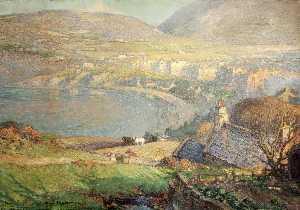 View across Port Erin Bay