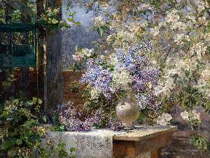In The Blossoming Bower