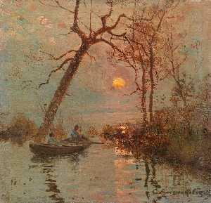 Wikioo.org - The Encyclopedia of Fine Arts - Artist, Painter  Sergei Ivanovich Vasilkovsky