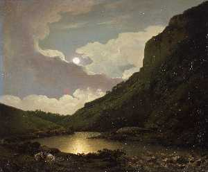 Matlock Tor by Moonlight