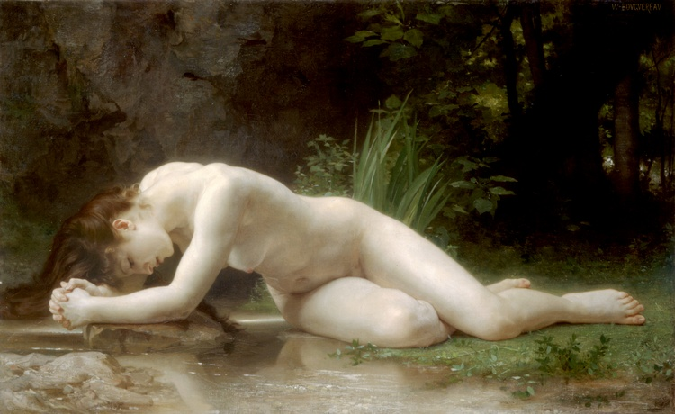 Wikioo.org - The Encyclopedia of Fine Arts - Painting, Artwork by William Adolphe Bouguereau - Biblis