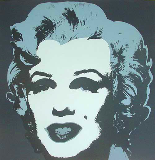 Wikioo.org - The Encyclopedia of Fine Arts - Painting, Artwork by Andy Warhol - Marylin Gray