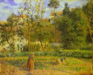 Vegetable Garden at the Hermitage near Pontoise