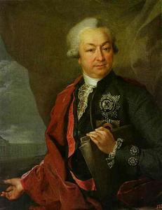 Portrait of I. I. Shuvalov