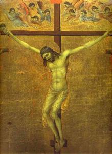 maesto dorso  CENTRALE  pannello di  dopodomani  crocifissione
