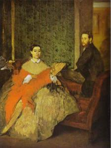 Portrait of Edmondo and Thérèse Morbilli
