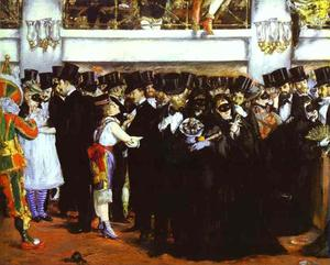 The Masked Ball at the Opera