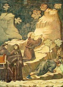 leggenda di san francesco - [ 14 ] - miracolo della sorgente