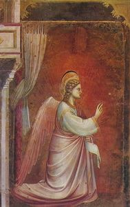Scrovegni - [ 14 ] - l angelo gabriele mandato da dio