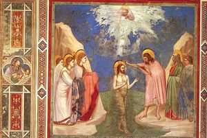 Scrovegni - [ 23 ] - battesimo di cristo