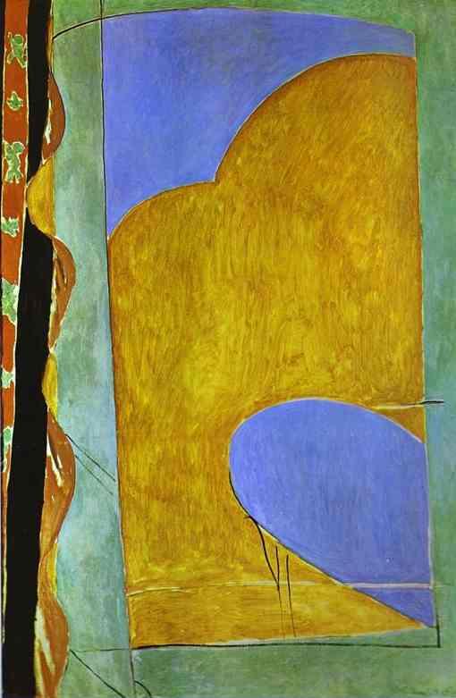 WikiOO.org - Енциклопедія образотворчого мистецтва - Живопис, Картини  Henri Matisse - Yellow Curtain