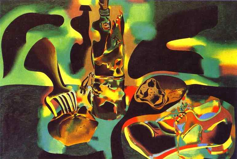 Wikioo.org - The Encyclopedia of Fine Arts - Painting, Artwork by Joan Miro - Still Life with Old Shoe