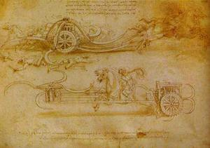 Battle Cart with Mobile Scythes