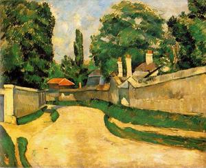 Houses Along a Road