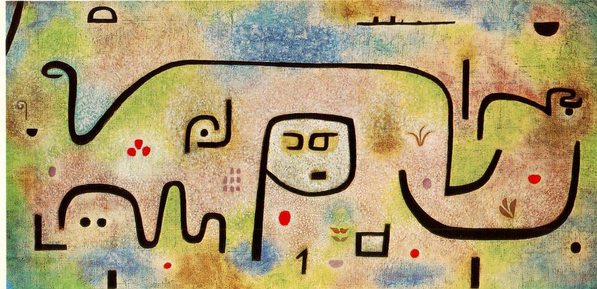 Wikioo.org - The Encyclopedia of Fine Arts - Painting, Artwork by Paul Klee - Insula Dulcamara