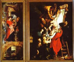 The Descent from the Cross (Left)