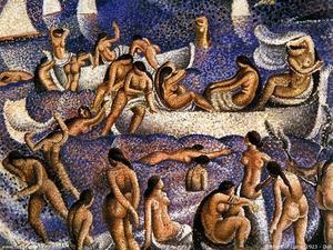 Bathers Of Llane