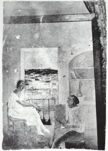 Untitled - the Artist in His Studio in Riba D'en Pitxot in CadaquNs, 1920-21