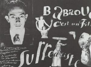 Babaouo - Publicity Announcement for the Publication of the Scenario of the Film, 1932