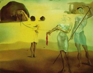 Enchanted Beach with Three Fluid Graces, 1938