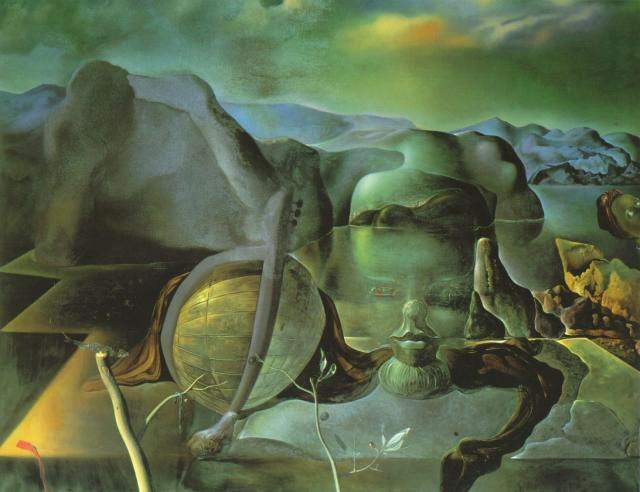 Wikioo.org - The Encyclopedia of Fine Arts - Painting, Artwork by Salvador Dali - The Endless Enigma, 1938