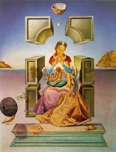 The Madonna of Port Lligat (first version), 1949