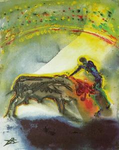 Tauromachia I - The Torero, the Kill (third and final round of the bullfight), 1968