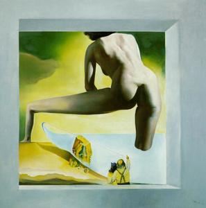 DalH Lifting the Skin of the Mediterranean Sea to Show Gala the Birth of Venus (stereoscopic work, right component), 1977