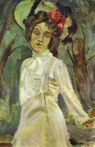 Portrait of Nadezhda Staniukovich