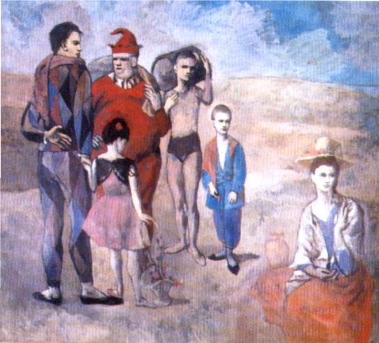 Saltimbanques (The Family of Saltimbanques) - Pablo Picasso