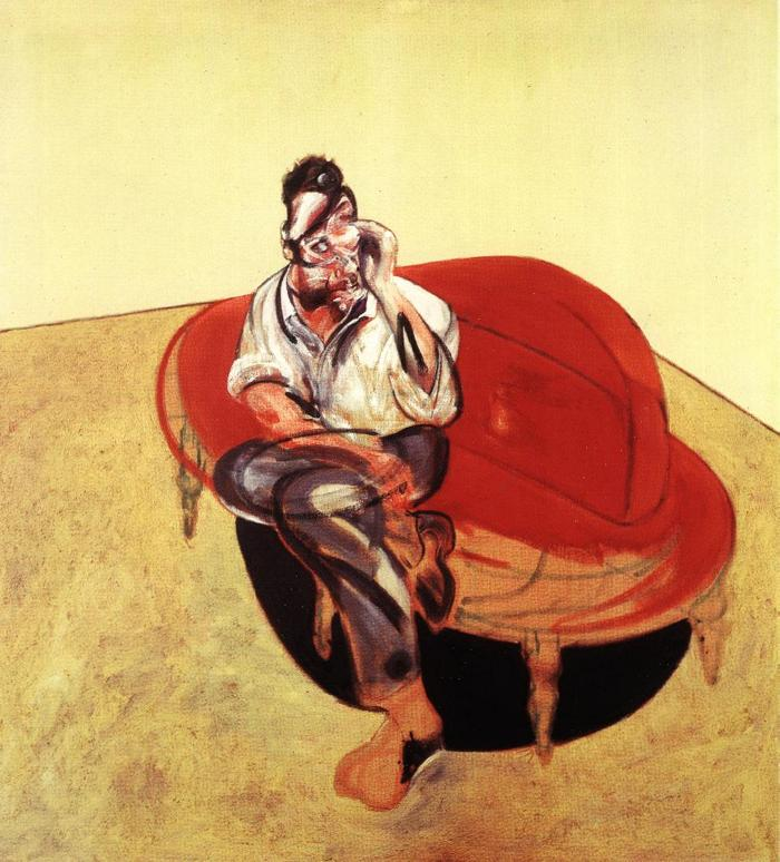 Wikioo.org - The Encyclopedia of Fine Arts - Painting, Artwork by Francis Bacon - portrait of lucian freud