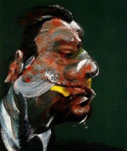 study for head of geogre dyer, 1967