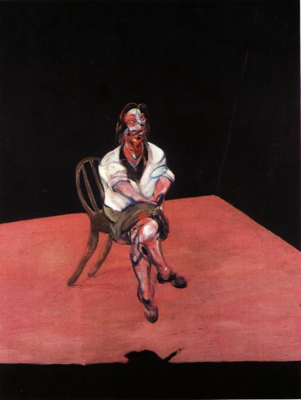 Wikioo.org - The Encyclopedia of Fine Arts - Painting, Artwork by Francis Bacon - study for portrait of isabel rawsthorne, 1964