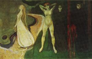 Woman at three stages