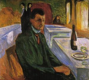 Self-Portrait in Weimar