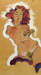 schiele nude
