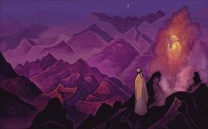 Mohammed on Mt Hira 1932