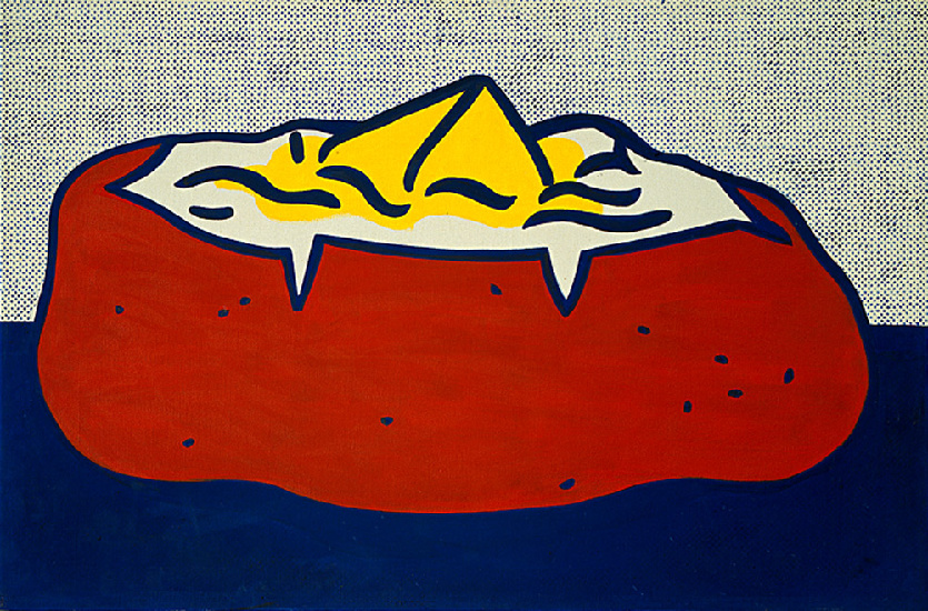Wikioo.org - The Encyclopedia of Fine Arts - Painting, Artwork by Roy Lichtenstein - Baked Potato