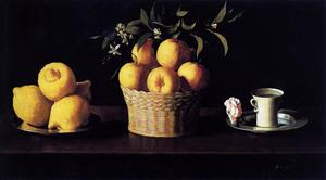 Still Life with Lemons, Oranges and Rose
