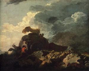 The Storm or The Cart Stuck in the Mire