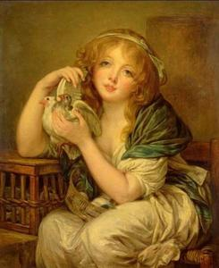Girl with the Doves