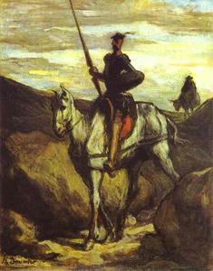 Don Quixote and Sancho Pansa