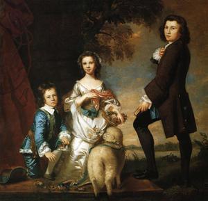 Thomas and Martha Neate, with Tutor