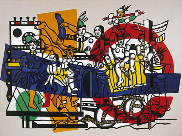 The Great Parade - Fernand Leger