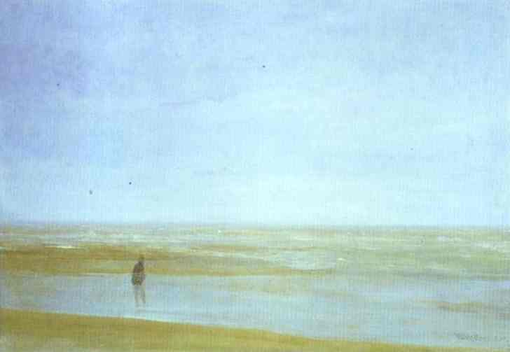 Wikioo.org - The Encyclopedia of Fine Arts - Painting, Artwork by James Abbott Mcneill Whistler - Sea and Rain
