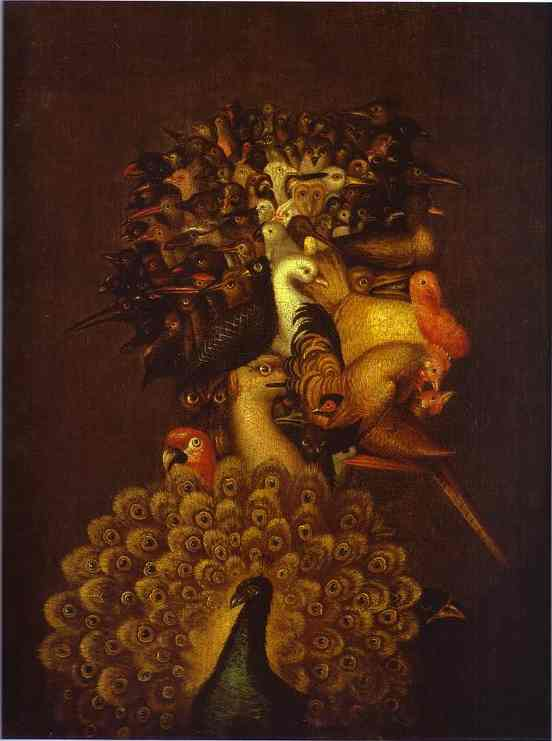 WikiOO.org - Encyclopedia of Fine Arts - Malba, Artwork Giuseppe Arcimboldo - Air