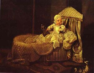 Gerard Anne Edwards in His Cradle